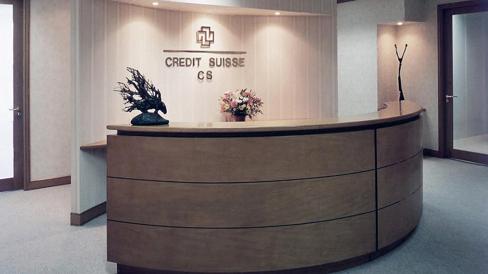 Space Logic Company - Credit Suisse- 2000's Portfolio
