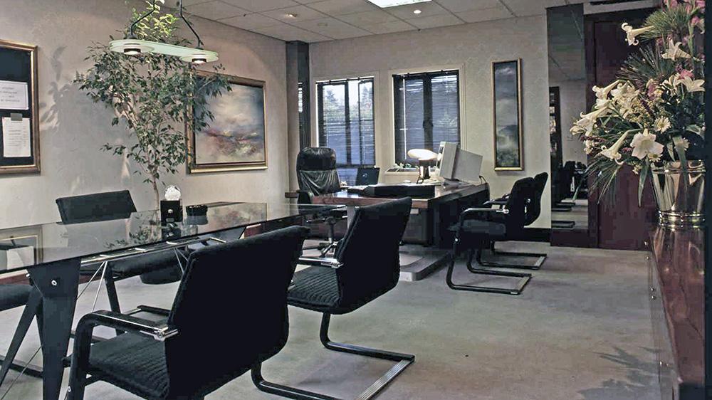 Space Logic Company - Contract Interiors Office - 1980's Portfolio